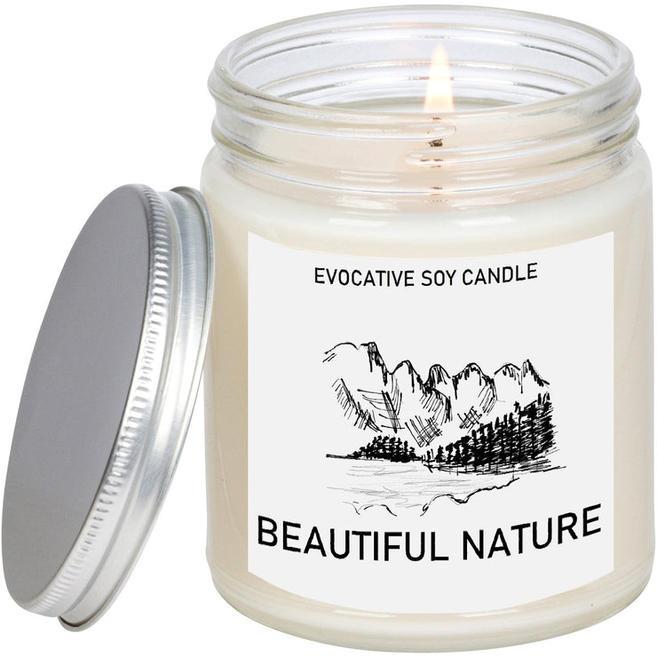 Montana Scented Candle - Missing Home - Homesick Gift - Feeling Homesick- State Scented Candle - Moving Gift - College Student Gift.