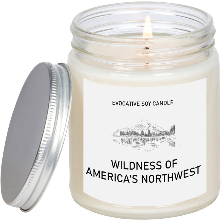 Oregon Scented Candle - Missing Home - Homesick Gift - Feeling Homesick- State Scented Candle - Moving Gift - College Student Gift.