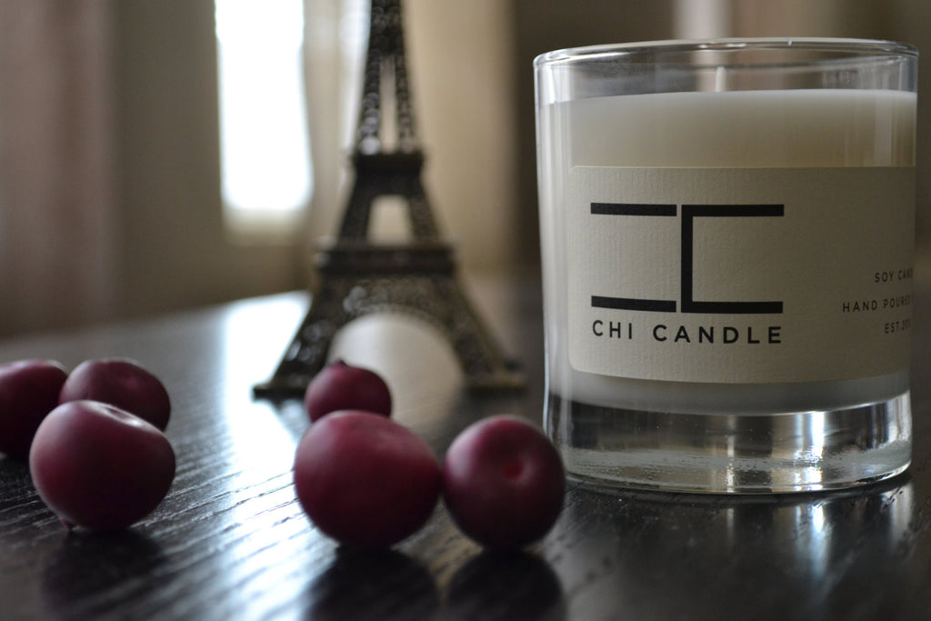 Tumbler 8 oz Soy Candle - White Lily & Amber