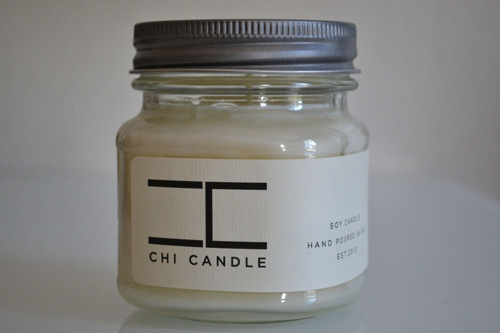 Mason Jar 8 Oz - Mason Jar 8 Oz Soy Candle - Tropical Breeze