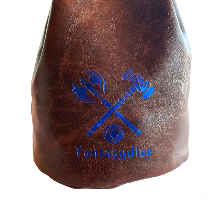 Fantasydice Logo Dice Bag with Side Pockets and Large Inner Pocket  With Belt Attachment- Only Available in US
