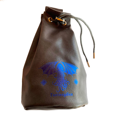 Fantasydice Cthulhu Dice Bag with Side Pockets and Large Inner Pocket With Belt Attachment