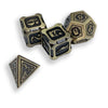Fire Dragon Metal Dice 10 Dice Set- Only Available in US