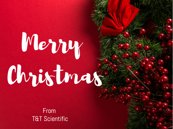 T&T Scientific Merry Christmas Card