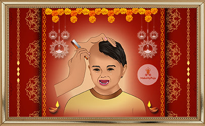 Mundan (Choula, Chudakarna, First Hair Cut )