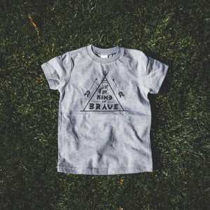 Be Kind and Brave Unisex Tee