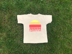 Sunshine is Good For My Soul Kids Tee