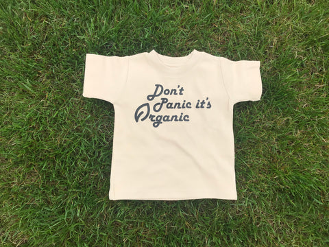 Don't Panic, It's Organic Kids Tee