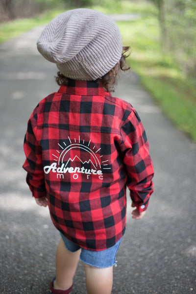 Buffalo Plaid Kids Flannel