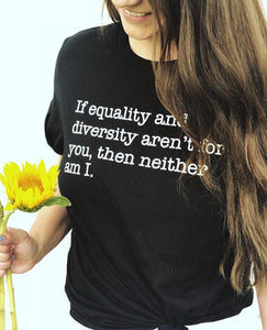 Equality and Diversity Unisex Tee