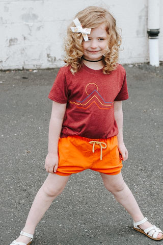 Sun and Waves Kids Tee