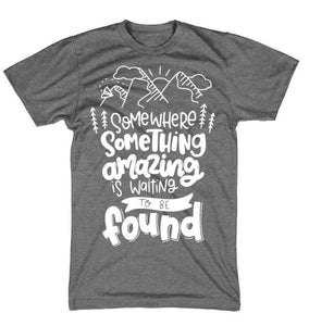 Waiting To Be Found Adult Tee