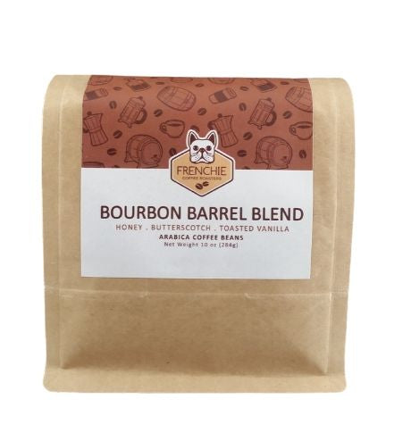 Bourbon Barrel Blend - Frenchie Coffee Roasters