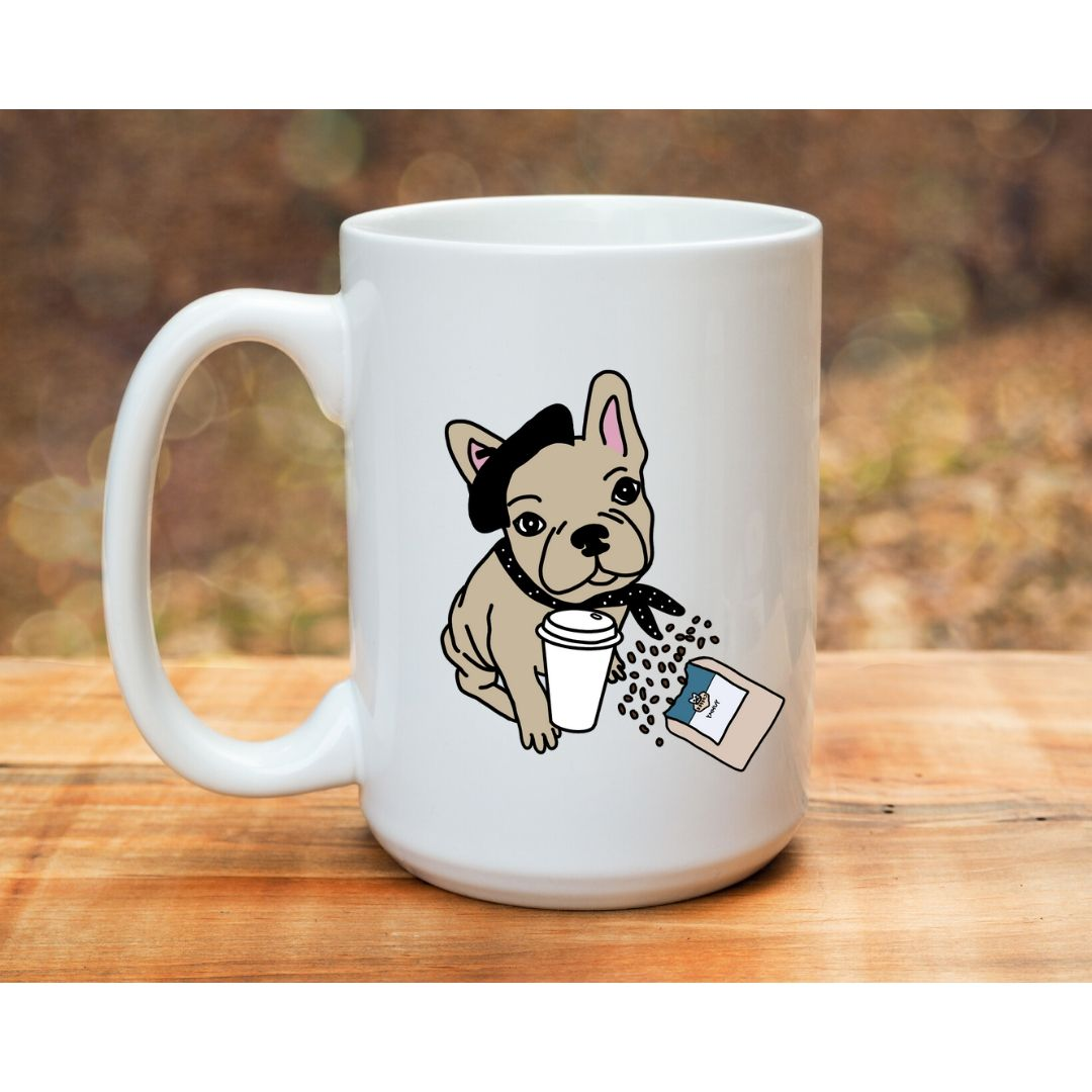 Frenchie L'amour Mug - Frenchie Coffee Roasters
