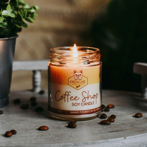 Coffee Shop Candle - Frenchie Coffee Roasters