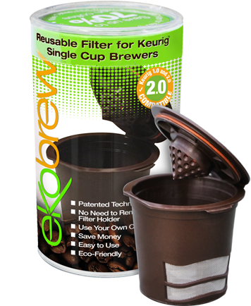 Ekobrew Reusable Filter - Frenchie Coffee Roasters