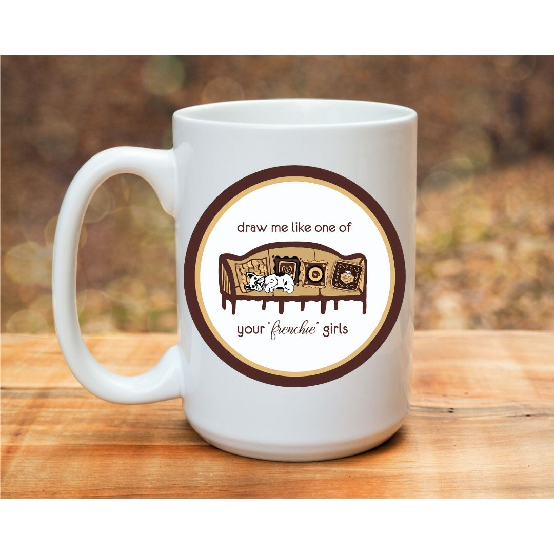 Frenchie Girls Mug - Frenchie Coffee Roasters