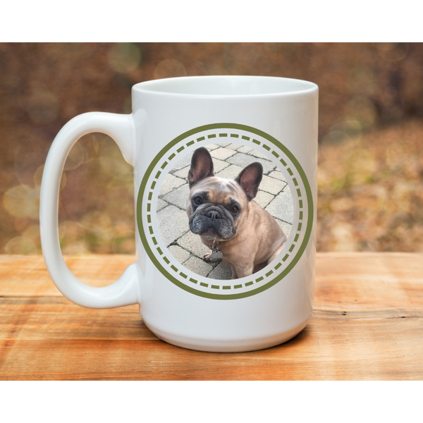 Custom Pup Mug - Frenchie Coffee Roasters