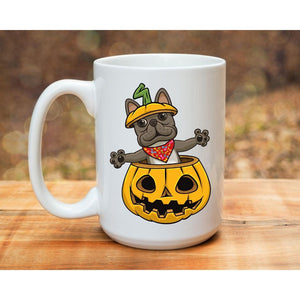 Sherlock the Pumpkin Mug - Frenchie Coffee Roasters