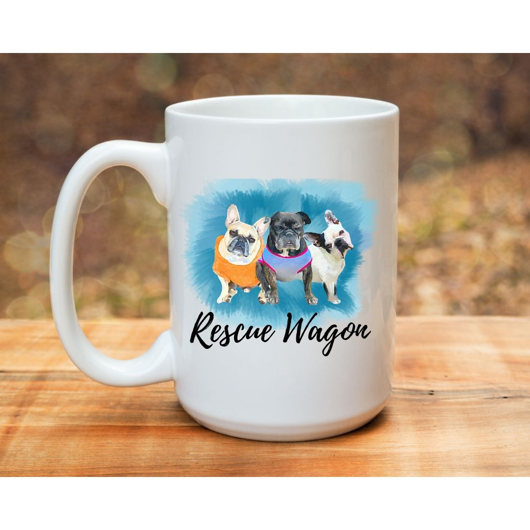 Rescue Partnership Mugs - Frenchie Coffee Roasters
