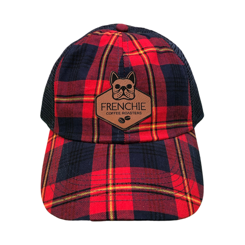 Plaid Logo Hat - Frenchie Coffee Roasters
