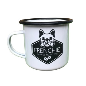 Gone Campin' Enamel Mug - Frenchie Coffee Roasters