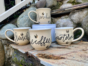 Artisan Frenchie Mug - Frenchie Coffee Roasters