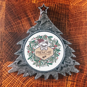 Holiday Tree Ornament - Frenchie Coffee Roasters