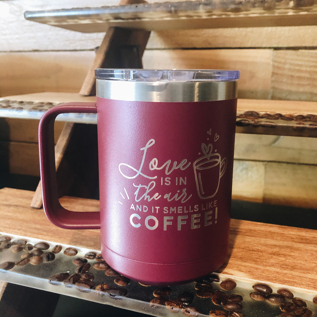 Love is in the Air Mug - Frenchie Coffee Roasters