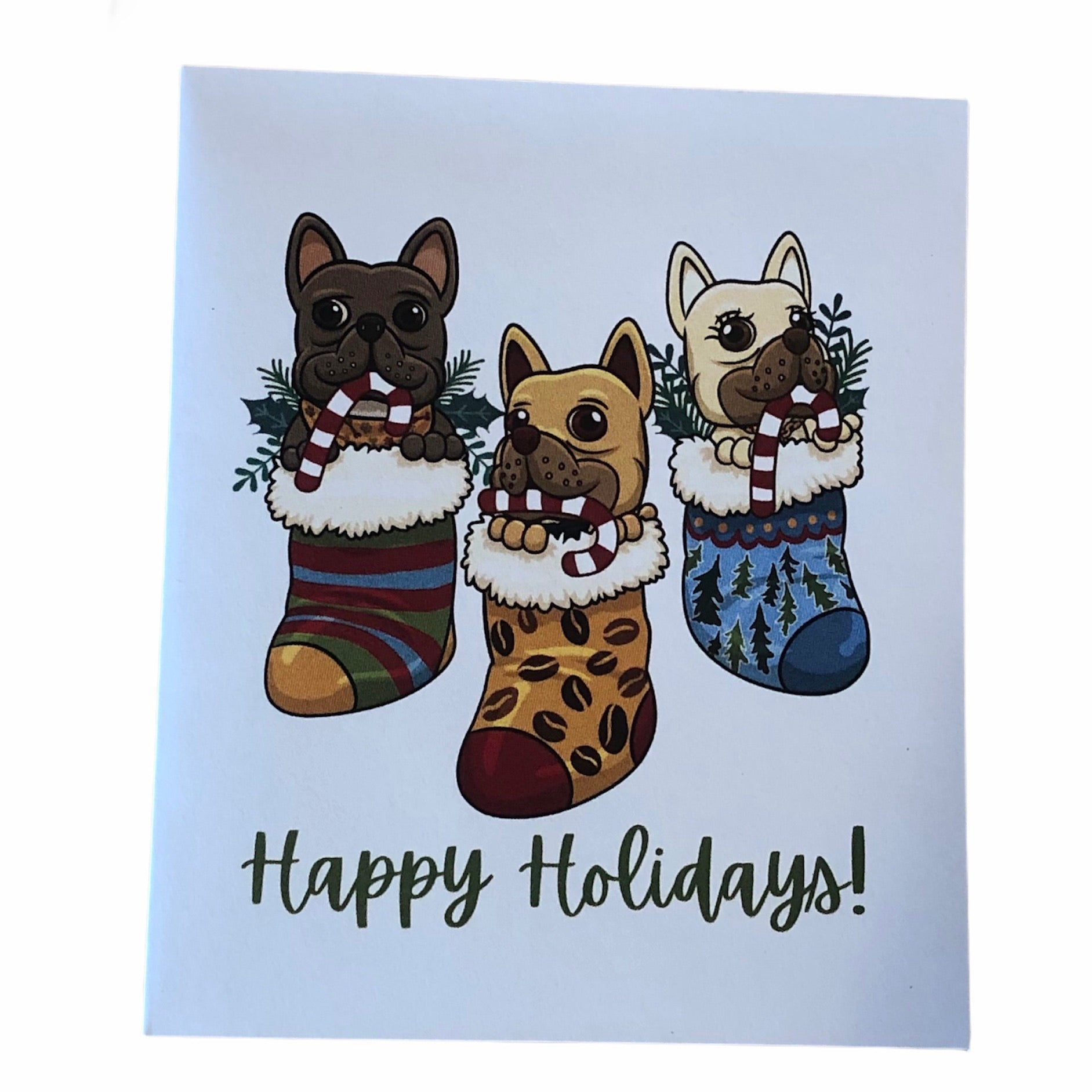 Holiday Cards - Frenchie Coffee Roasters
