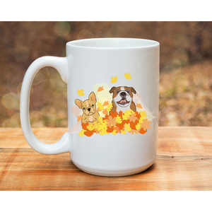 Queen City Bulldog Rescue Mug - Frenchie Coffee Roasters