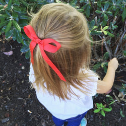 Red Wendy Bow