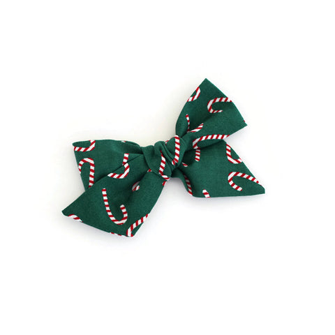 Candy Cane Large McKinley Bow