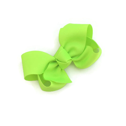 Neon Green Ryan Bow - Livie Loo's