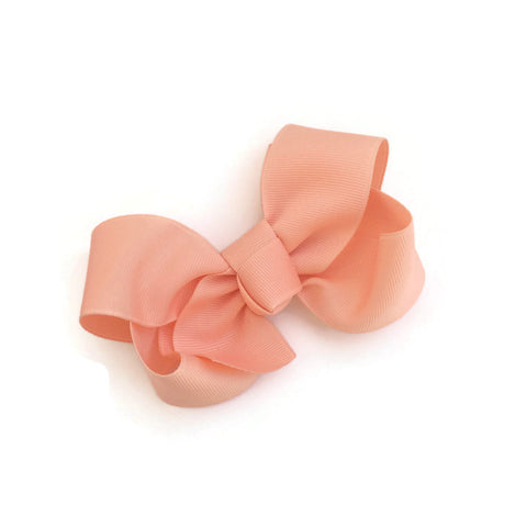 Peach Ryan Bow - Livie Loo's