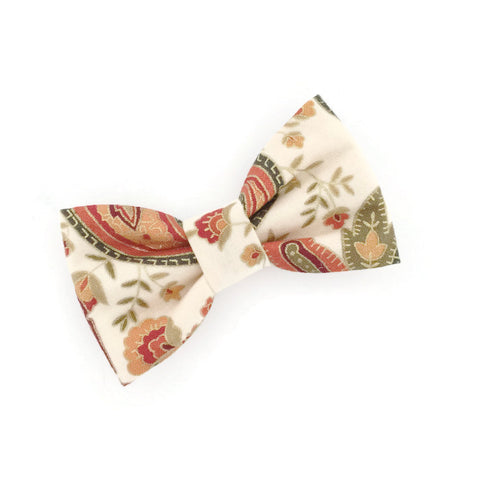 Metallic Paisley Buddy Bow Tie - Livie Loo's