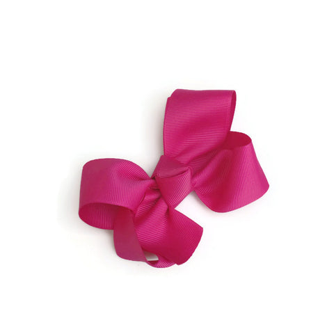 Fuchsia Ryan Bow - Livie Loo's