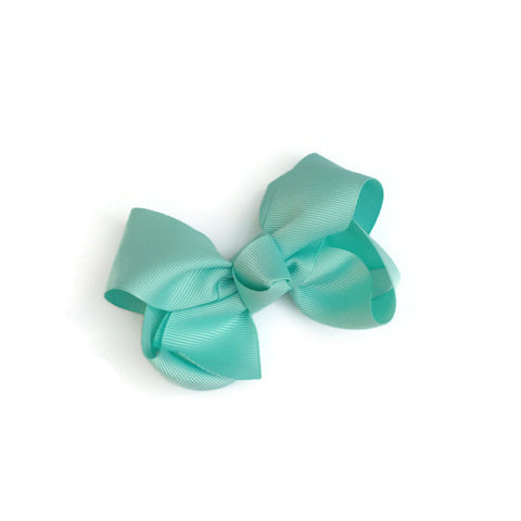 Aqua Ryan Bow - Livie Loo's