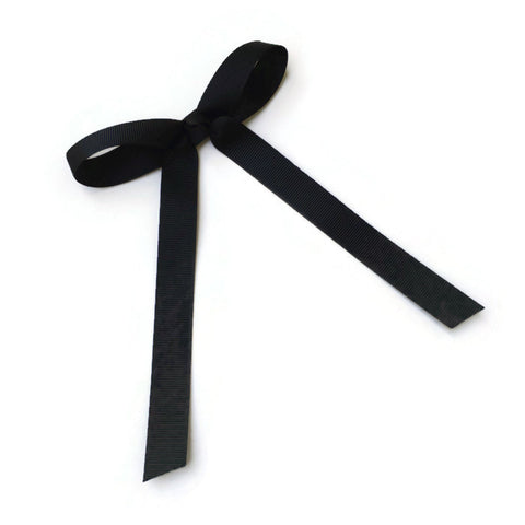 Black Wendy Bow - Livie Loo's