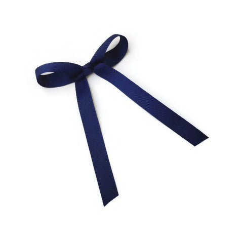 Navy Blue Wendy Bow