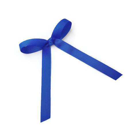 Royal Blue Wendy Bow - Livie Loo's