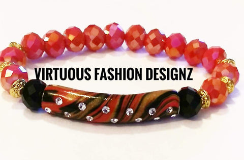 Women's Handmade Bracelet - Virtuous Fashion Designz/God's Truth Clothing