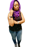 Crochet Hooded Double Wrapped Infinity Scarf - Virtuous Fashion Designz/God's Truth Clothing