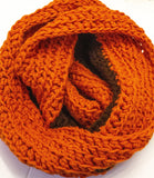 Crochet Hooded Double Wrapped Infinity Scarf