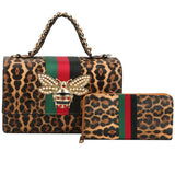THE QUEEN 2-in-1 BOX SATCHEL SET - Virtuous Fashion Designz/God's Truth Clothing