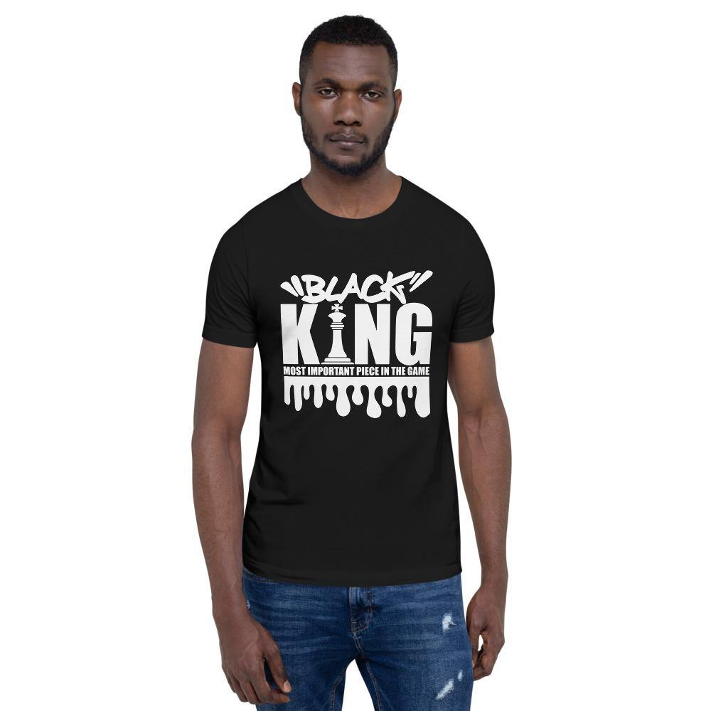 Black King Tee - Virtuous Fashion Designz/God's Truth Clothing