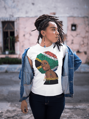 Melanin African American Women Tee - Virtuous Fashion Designz/God's Truth Clothing