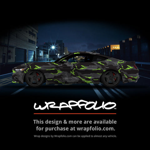 Night Vision Camo Wrap