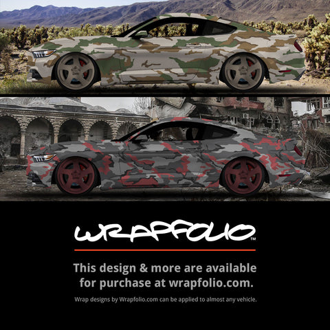 Urban / Earth Camo Wrap