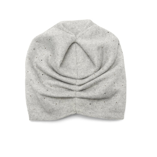 The Sky Beanie in Light Grey